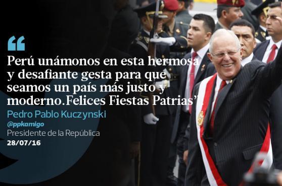 Fiestas Patrias: saludos de políticos peruanos por 28 de julio