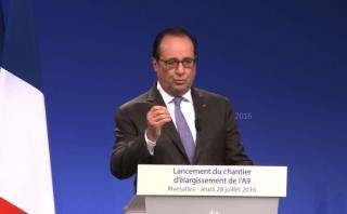 Francia: Hollande crea Guardia Nacional por atentados [VIDEO]