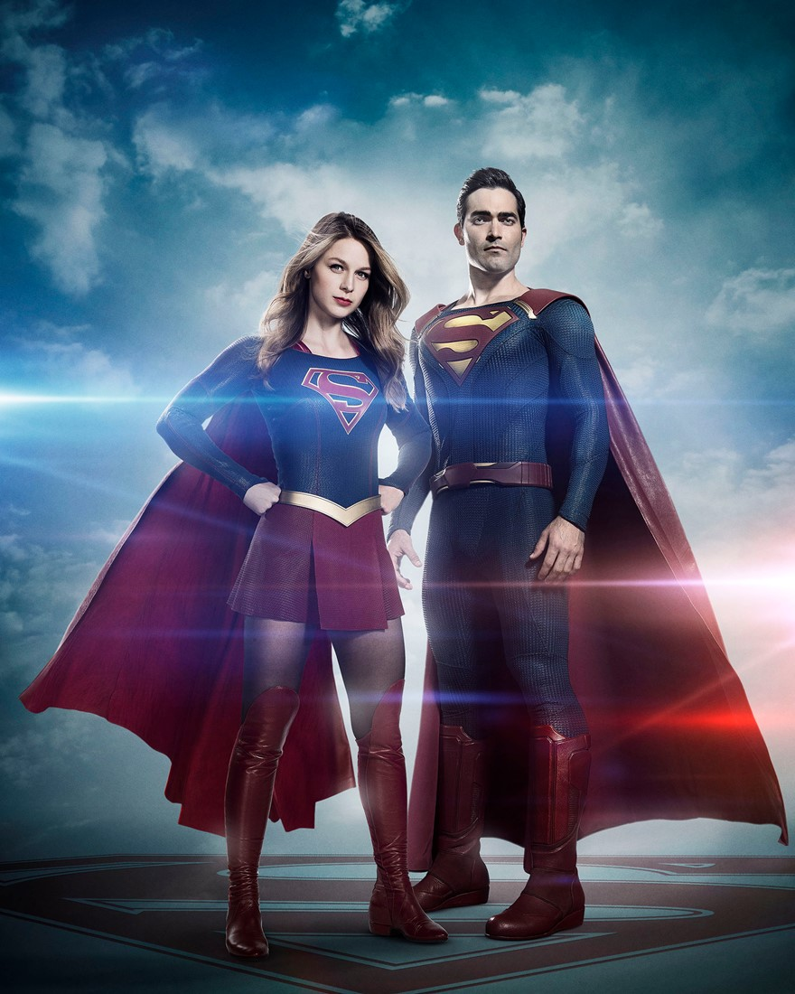 Supergirl y Superman. (Foto: Warner Bros.)