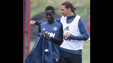 Zlatan Ibrahimovic: así fue su primer día en Manchester United
