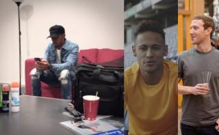 Lewis Hamilton venció a Neymar y retó a Cristiano Ronaldo