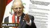 Descarga el mensaje presidencial de PPK en video, texto y audio