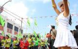 Desfile patrio y antiminero contra Tía María en Cocachacra