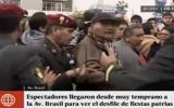 Gran Parada Militar: desorden en el ingreso a las tribunas
