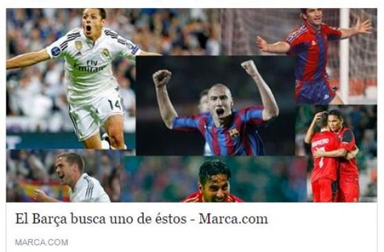 Barcelona busca un delantero como Pizarro, aseguran en España