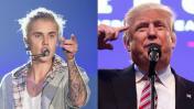 Justin Bieber rechazó US$5 millones para cantar por Trump