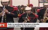Parada Militar: banda se preparó con canción de Ráfaga [VIDEO]