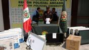 Chimbote: PNP recuperó artefactos tras asalto a empresa