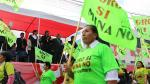 Desfile patrio y antiminero contra Tía María en Cocachacra - Noticias de industria extractiva