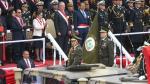 """PPK bailó """"Valicha"""" durante el desfile militar [VIDEO] - Noticias de desfile militar"""