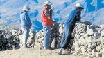 Huancavelica: mineros ilegales hacen de Ocoyo tierra de nadie - Noticias de lino chipana