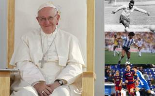 ¿Quién es el mejor jugador de fútbol para el papa Francisco?