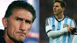 "Bauza sobre retorno de Messi con Argentina: ""Soy optimista"""