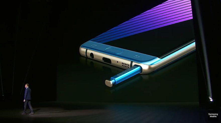 Samsung Galaxy Note 7: conoce las características del equipo