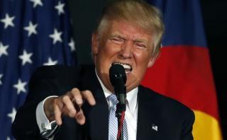 Trump expulsa de mitin a un bebé que lloraba y a su madre