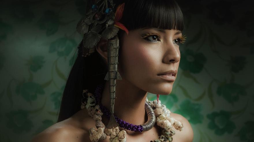 Retratan La Belleza De La Mujer Peruana De La Costa