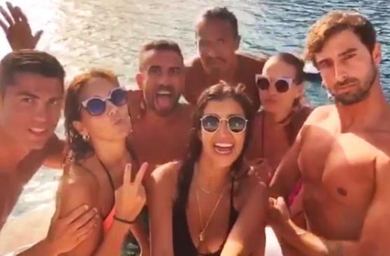 Cristiano Ronaldo: así disfruta de unas súper vacaciones