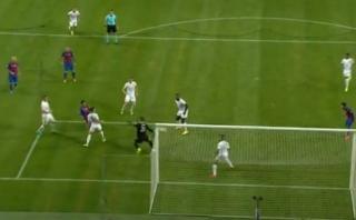 Luis Suárez superó a dos rivales y marcó golazo de derecha