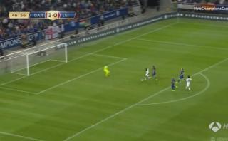 Barcelona: Jugador del Leicester City anotó a lo Lionel Messi