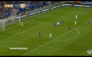 Leicester City: fichaje millonario anotó doblete al Barcelona