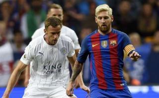 Barcelona derrotó 4-2 a Leicester City en Estocolmo [VIDEO]