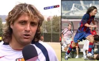 Guillermo Hoyos: el técnico de Bolivia que entrenó a Leo Messi