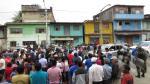 Vraem: toman carretera en protesta por retraso en asfaltado - Noticias de quinua san francisco