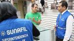 Sunafil inició fiscalización de ópticas en el Centro de Lima - Noticias de sunafil