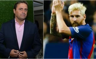 Lionel Messi felicitó a Hoyos por ser nuevo técnico de Bolivia