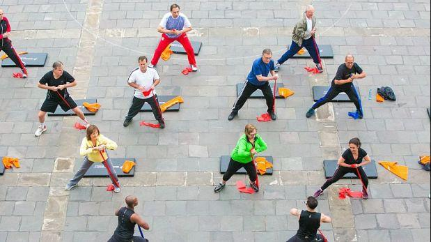 Solo el 10% de peruanos realiza alguna actividad física