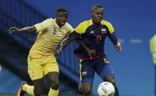 Colombia empató 2-2 con Suecia en Grupo B de Río 2016