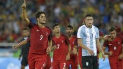 Argentina perdió 2-0 ante Portugal en el Grupo D de Río 2016