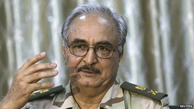 El coronel Jalifa Haftar se autoconsidera como el gran rival de Estado Islámico. (Foto: Reuters)