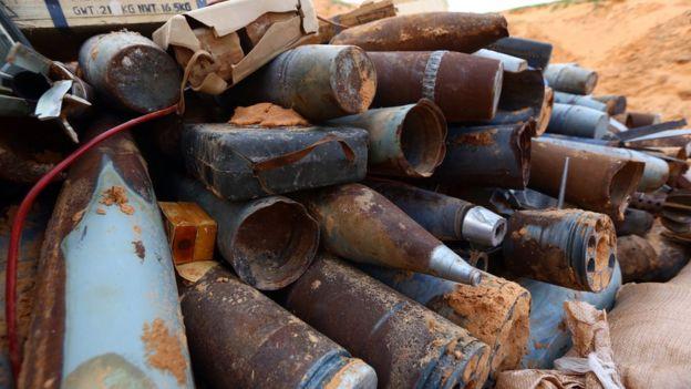 Las armas del antiguo gobierno libio han terminado en manos de diversos grupos. (Foto: AFP)