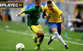 Río: Brasil decepcionó y empató 0-0 con Neymar ante Sudáfrica