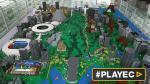 Una replica de Río con Lego da la bienvenida a los olímpicos - Noticias de santiago calatrava