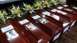 Estado entrega restos de 7 víctimas de El Frontón tras 30 años - Noticias de carmen mendoza