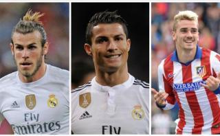 Cristiano, Bale y Griezmann nominados al mejor jugador de UEFA