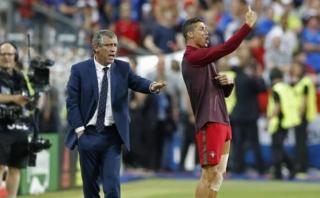 Cristiano Ronaldo: Mourinho criticó actitud en la final de Euro