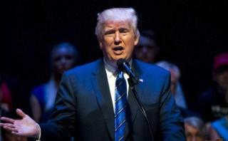 """Trump arremete contra el """"caballo de Troya"""" de la inmigración"""