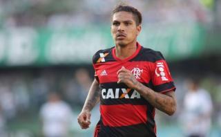 Con Paolo Guerrero: Flamengo venció 1-0 al Atlético Paranaense