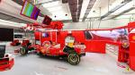 Conoce el garaje de la Scuderia Ferrari con este tour virtual - Noticias de cabinas públicas