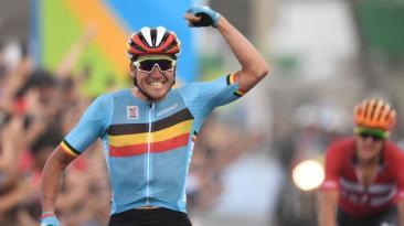 Río 2016: belga Van Avermaet ganó medalla de oro en ciclismo