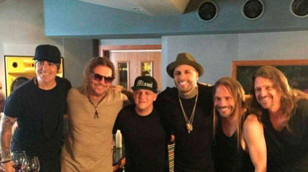 """Maná y Nicky Jam graban """"De pies a cabeza"""" en versión reggae"""