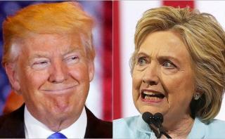 Trump se mofa de Clinton y la califica de 'robot'