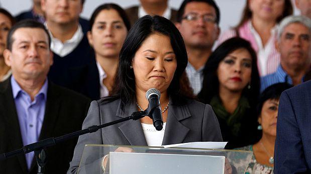 Keiko Fujimori: 54,8% desaprueba su actual desempeño, según CPI