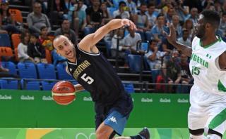 Argentina ganó 94-66 a Nigeria en debut de básquet en Río 2016