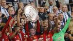 La felicidad de Ibrahimovic y compañía por Community Shield - Noticias de wembley