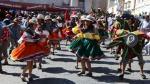 Con danzas típicas saludan a la Ciudad Blanca [FOTOS] - Noticias de pablo zegarra