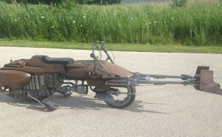 Star Wars: Crean moto similar a la Speeder Bike [VIDEO]